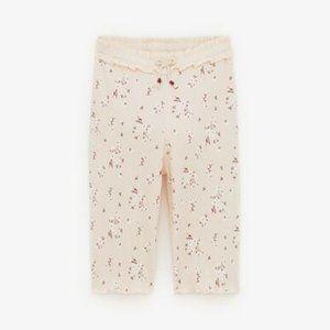 NWT Zara Floral Culottes Pants